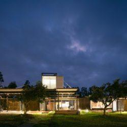 Vue d'ensemble nuit - RDP-House par Daniel Moreno Flores pichincha, Equateur