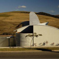Vue d'ensemble site - House par Joao Diniz Lagoa Santa, Brésil