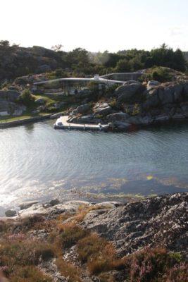 Vue panoramique site - Lyngholmen par Lund Hagem - Lillesand, Norvege