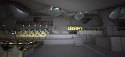 pièce principale illuminée - Casa-del-Ancantilado par Gilbartolome Architects - Salobrena, Espagne