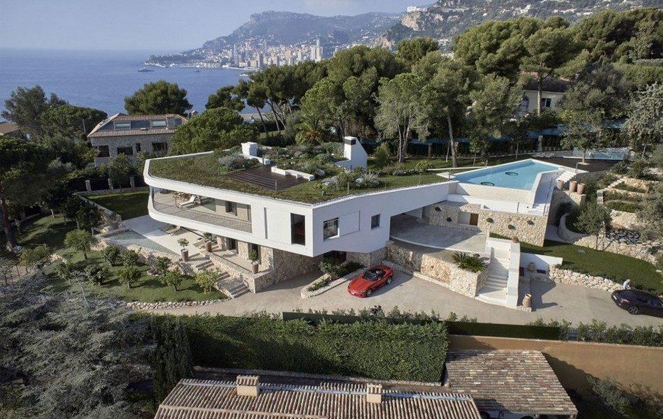 Splendide Villa Contemporaine Avec Toit Terrasse Vegetalise Et Sa