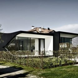 Ancienne maison - Mirror-Houses par Peter Pichler - Bolzano, Italie