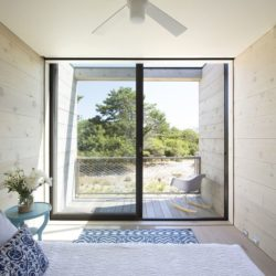 Chambre & grande baie vitrée - Amagansett-Dunes par Bates Masi - Amagansett, USA