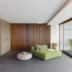 Chambre & grande baie vitrée coulissante - Home-Reutlingen par Alexander Brenner - Reutlingen,  Allemagne