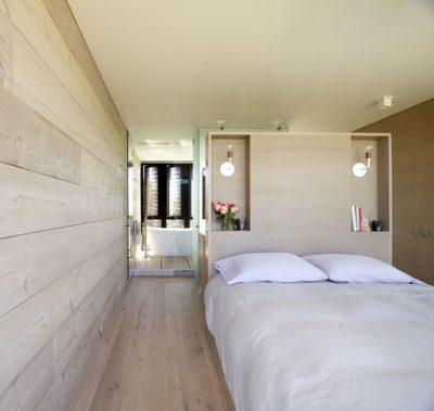 Chambre principale & salle de bains - Amagansett-Dunes par Bates Masi - Amagansett, USA