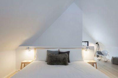 Chambre secondaire - Villa-Boreale par Cargo Architecture - Charlevoix, Quebec
