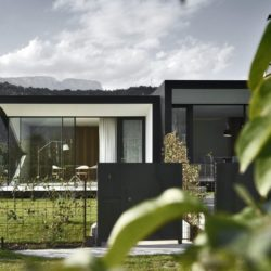 Clôture - Mirror-Houses par Peter Pichler - Bolzano, Italie