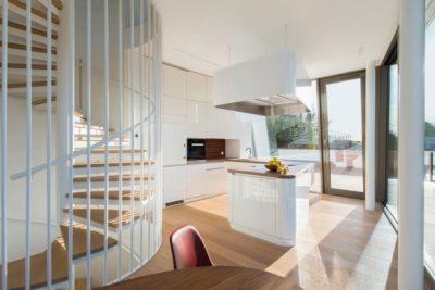 Cuisine & salle séjour - Flexhouse par Evolution Design - Meilen, Suisse