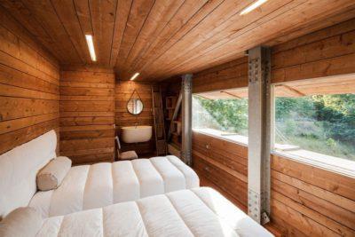 Double chambre secondaire avec salle de bains - Geres-House par Carvalho Araujo - Vieira do Minho, Portugal