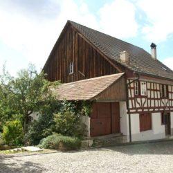 Entrée façade jardin - House-Lendenmann par L3P Architekten - Regensberg, Suisse