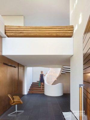Escalier accès étage supérieur - Home-Reutlingen par Alexander Brenner - Reutlingen,  Allemagne