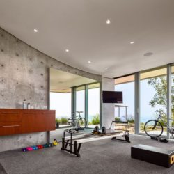 Espace TV salon  - California-home  par nma-architects - Californie, USA
