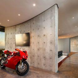 Espace garage moto  - California-home  par nma-architects - Californie, USA