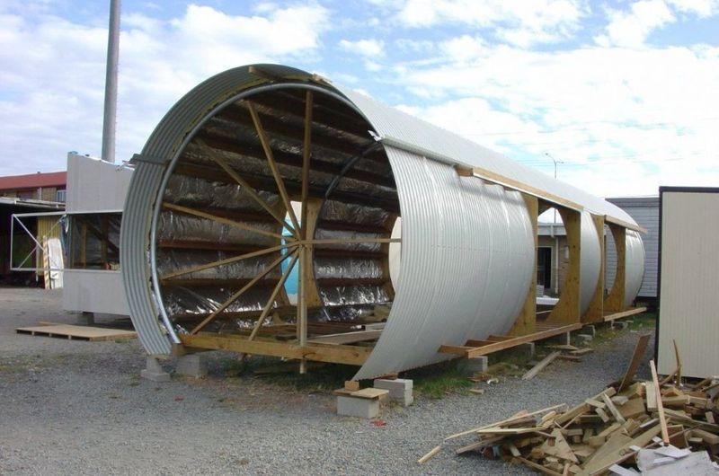 Etapes de construction - Drew-House par Anthill Constructions - Queensland, Australie