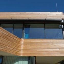 Façade étage bois & vitrée - Holistic-Living par Graft - Berlin, Allemagne
