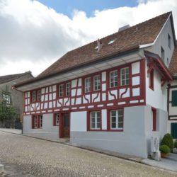 Façade entrée - House-Lendenmann par L3P Architekten - Regensberg, Suisse