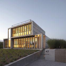 Façade jardin - Amagansett-Dunes par Bates Masi - Amagansett, USA