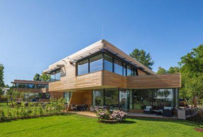 Façade jardin & terrasse - Holistic-Living par Graft - Berlin, Allemagne