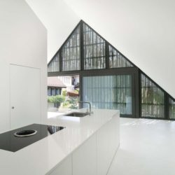 Lavabo - House-Lendenmann par L3P Architekten - Regensberg, Suisse