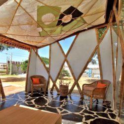 Mini salon ouvert - Bamboo-Symphony par Manasaram Architects - Bangalore, Inde