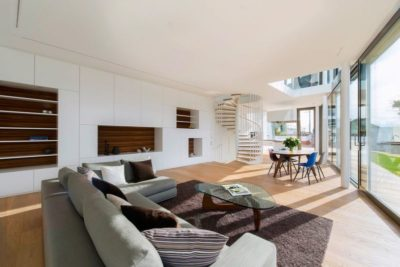 Pièce de vie - Flexhouse par Evolution Design - Meilen, Suisse
