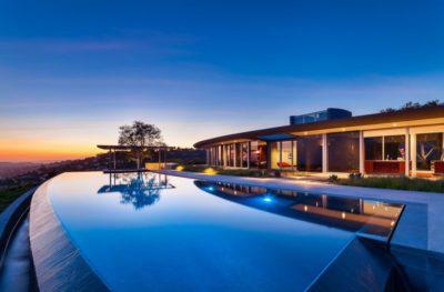 Piscine & vue imprenable - California-home  par nma-architects - Californie, USA
