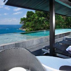 Piscine & vue panoramique mer & vaste piscine  - Villa-Yin - iles Adaman