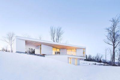 Résidence Le Nook par MU Architecture - Mansonville, Québec, Canada_02