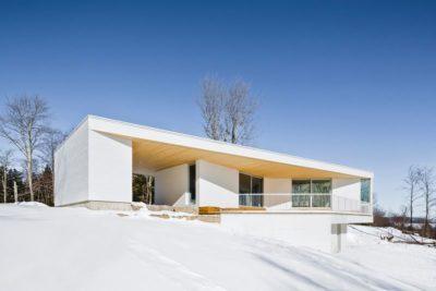 Résidence Le Nook par MU Architecture - Mansonville, Québec, Canada_04