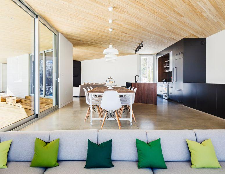 R sidence le nook par mu architecture mansonville - La residence kitchel par boora architects ...
