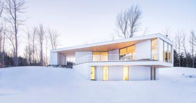 Résidence Le Nook par MU Architecture - Mansonville, Québec, Canada