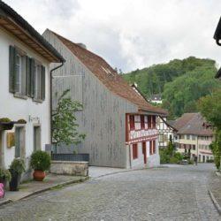 Route principale accès - House-Lendenmann par L3P Architekten - Regensberg, Suisse