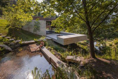 Ruisseau d'eau - Geres-House par Carvalho Araujo - Vieira do Minho, Portugal