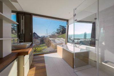 Salle de bains - Flexhouse par Evolution Design - Meilen, Suisse
