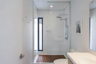 Salle de bains - Villa-Boreale par Cargo Architecture - Charlevoix, Quebec