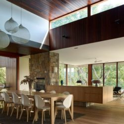 Salle séjour - Home-Overlooks par Shaun Lockyer Architects - Queensland, Australie