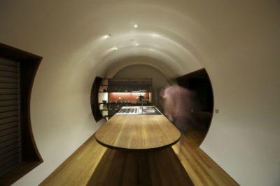 Salle séjour & cuisine - Drew-House par Anthill Constructions - Queensland, Australie