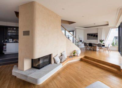 Salle séjour & cuisine - Holistic-Living par Graft - Berlin, Allemagne