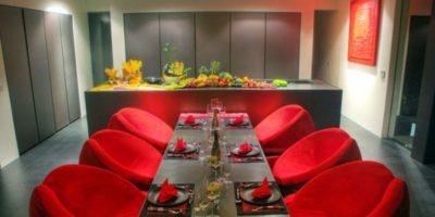 Salle séjour & cuisine - Villa-Yin - iles Adaman