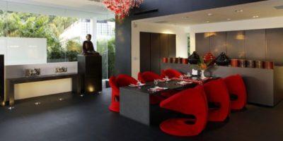 Salle séjour design - Villa-Yin - iles Adaman