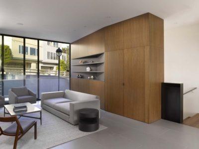 Salon étage - Laidley-Street-Residence par Michael Hennessey - San Francisco, USA