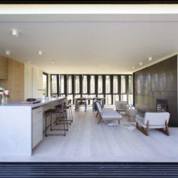 Salon & cuisine - Amagansett-Dunes par Bates Masi - Amagansett, USA