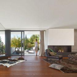 Salon & grande baie vitrée - Home-Reutlingen par Alexander Brenner - Reutlingen,  Allemagne