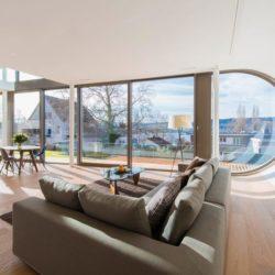Salon & salle séjour - Flexhouse par Evolution Design - Meilen, Suisse
