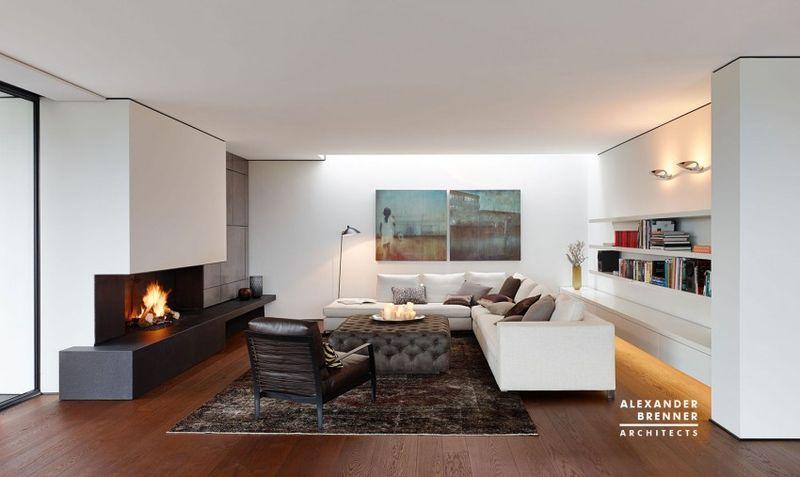 Salon secondaire & bibliothèque - Home-Reutlingen par Alexander Brenner - Reutlingen, Allemagne