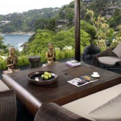 Salon terrasse design - Villa-Yin - iles Adaman