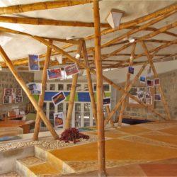 Structure toit en bambou - Bamboo-Symphony par Manasaram Architects - Bangalore, Inde