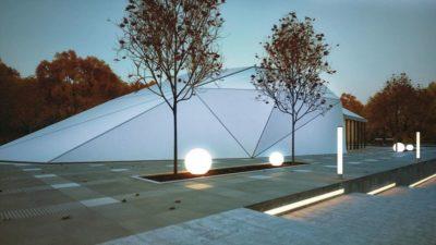 Toiture en aluminium - Shell-House par Lenz Architects - Almaty, Kazakhstan