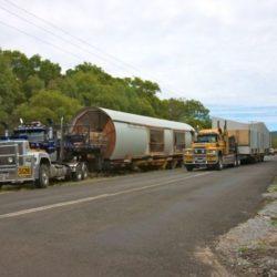 Transport modules - Drew-House par Anthill Constructions - Queensland, Australie
