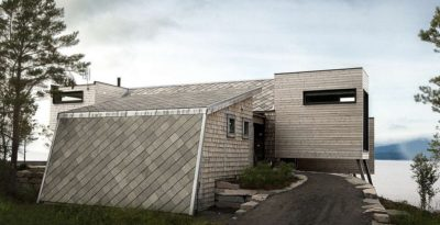 Cabin-Straumsnes par Rever Og Drage Arkitekter - Tingvollvagen, Norvege